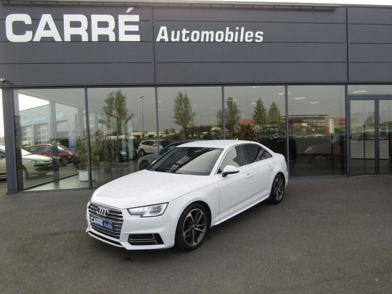 Audi A4 2.0 TDI 150CH S LINE Diesel BLANC Occasion à vendre