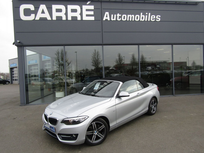 Photo 1 de l'offre de BMW SERIE 2 CABRIOLET (F23) 218D 136CH SPORT à 21890€ chez Carre automobiles