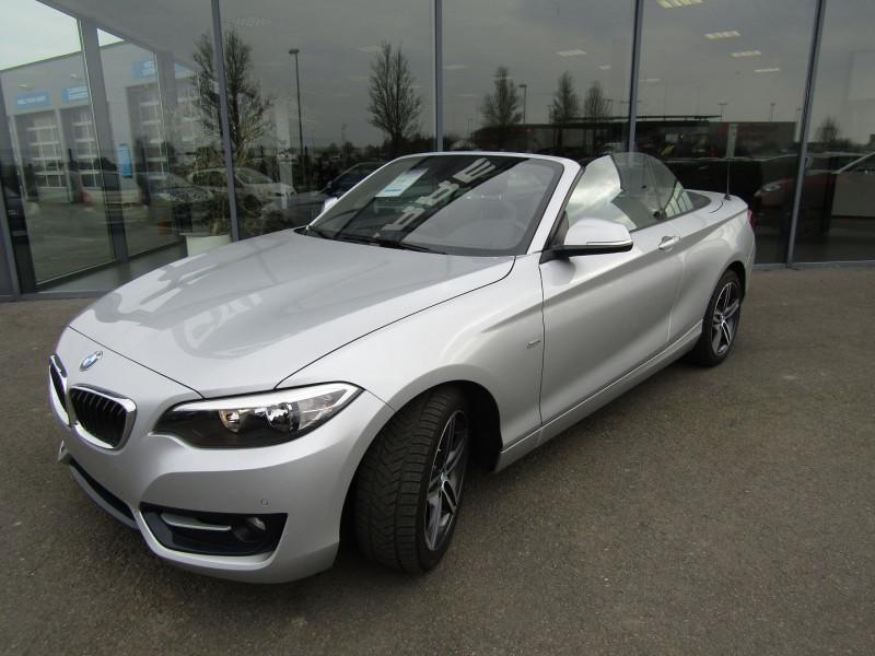 Photo 10 de l'offre de BMW SERIE 2 CABRIOLET (F23) 218D 136CH SPORT à 21890€ chez Carre automobiles