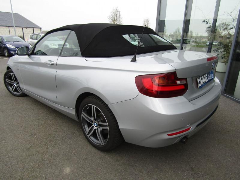 Photo 8 de l'offre de BMW SERIE 2 CABRIOLET (F23) 218D 136CH SPORT à 21890€ chez Carre automobiles