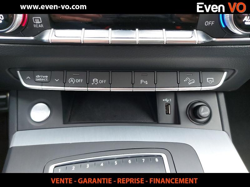 Photo 33 de l'offre de AUDI Q5 3.0 V6 TDI 286CH S LINE QUATTRO TIPTRONIC 8 à 43500€ chez Even VO