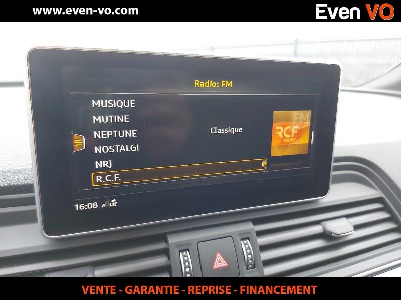 Photo 29 de l'offre de AUDI Q5 3.0 V6 TDI 286CH S LINE QUATTRO TIPTRONIC 8 à 43500€ chez Even VO