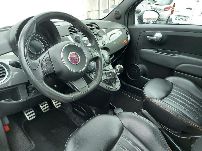 Photo 3 de l'offre de FIAT 500 0.9 8V TWINAIR 85CH S&S GQ à 9000€ chez Even VO