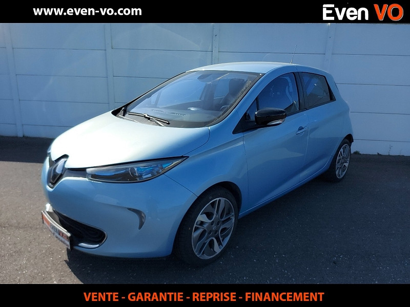 Renault ZOE INTENS CHARGE RAPIDE Electrique BLEU  Occasion à vendre