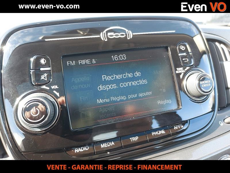 Photo 7 de l'offre de FIAT 500 1.2 8V 69CH ECO PACK LOUNGE à 10000€ chez Even VO