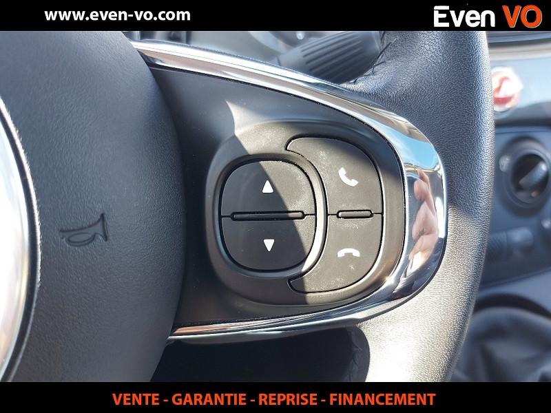 Photo 17 de l'offre de FIAT 500 1.2 8V 69CH ECO PACK LOUNGE à 10000€ chez Even VO