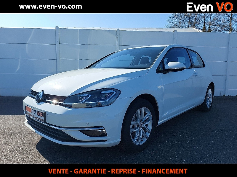 Volkswagen GOLF VII 1.4 TSI 125CH BLUEMOTION TECHNOLOGY CARAT 3P Essence BLANC Occasion à vendre