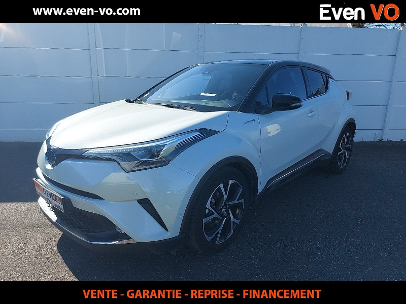 Toyota C-HR 122H COLLECTION 2WD E-CVT Hybride BLANC Occasion à vendre