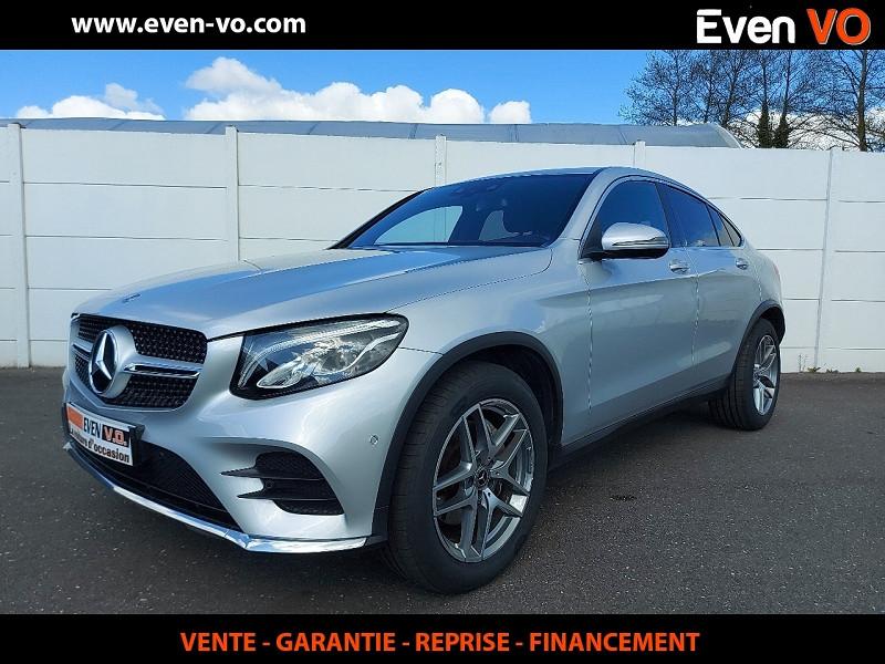 Mercedes-Benz GLC COUPE 250 D 204CH BUSINESS EXECUTIVE 4MATIC 9G-TRONIC Diesel GRIS  Occasion à vendre