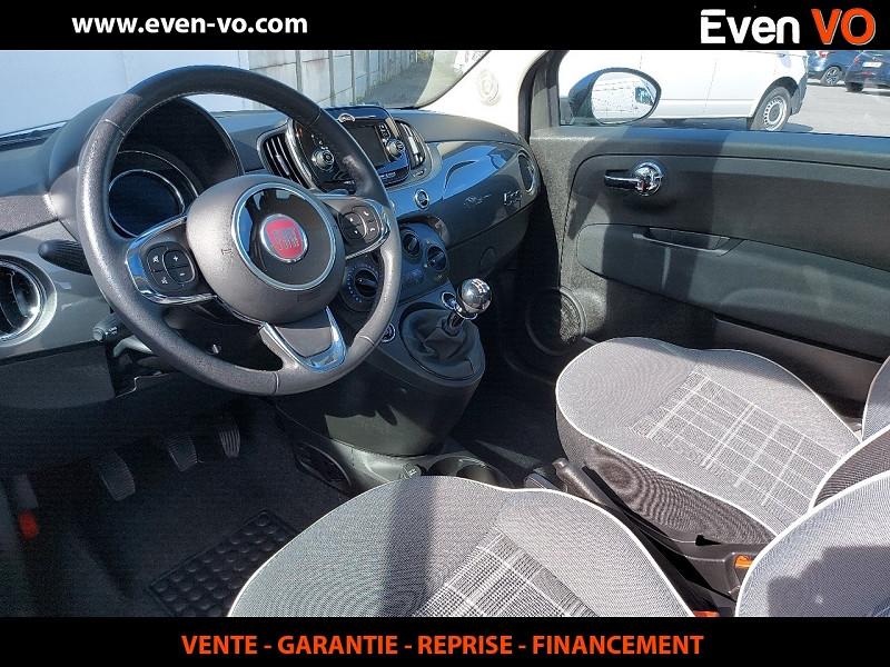 Photo 3 de l'offre de FIAT 500 1.2 8V 69CH ECO PACK LOUNGE à 10000€ chez Even VO