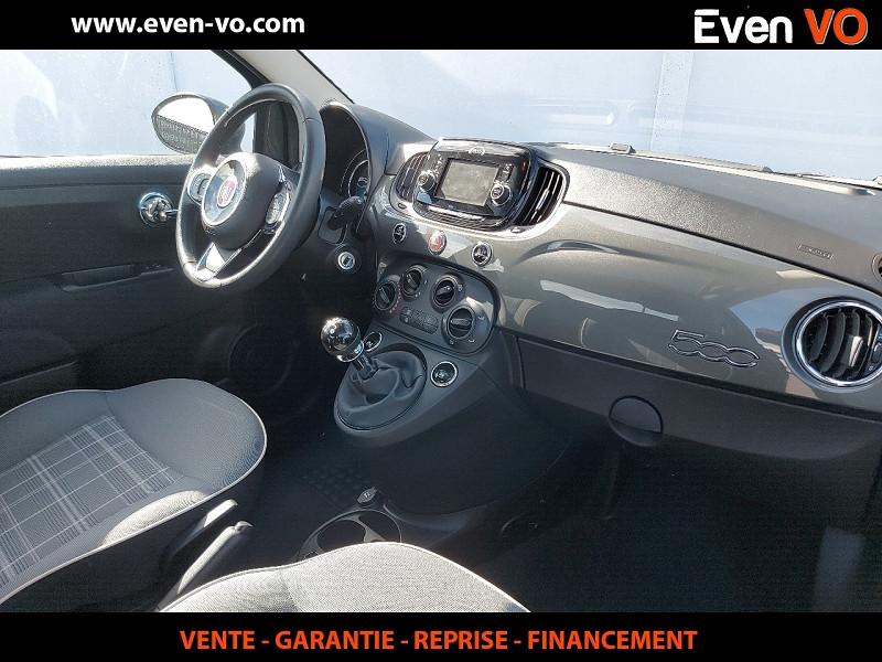 Photo 5 de l'offre de FIAT 500 1.2 8V 69CH ECO PACK LOUNGE à 10000€ chez Even VO