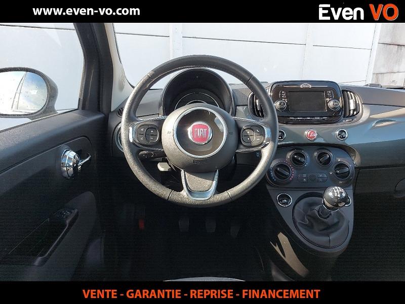 Photo 19 de l'offre de FIAT 500 1.2 8V 69CH ECO PACK LOUNGE à 10000€ chez Even VO