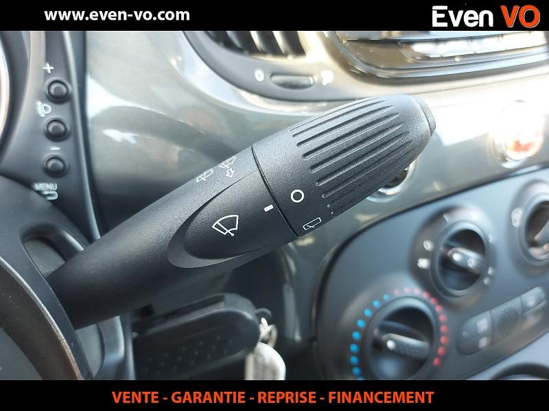 Photo 18 de l'offre de FIAT 500 1.2 8V 69CH ECO PACK LOUNGE à 10000€ chez Even VO
