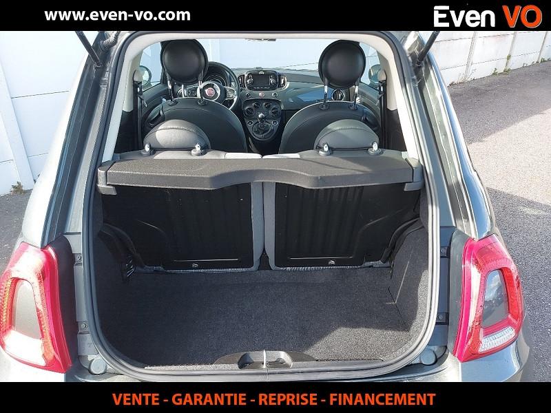 Photo 10 de l'offre de FIAT 500 1.2 8V 69CH ECO PACK LOUNGE à 10000€ chez Even VO