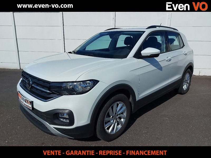 Volkswagen T-CROSS 1.0 TSI 115CH LOUNGE BUSINESS DSG7 Essence BLANC Occasion à vendre