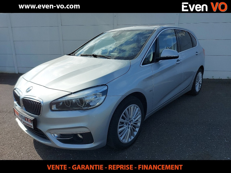 Bmw SERIE 2 ACTIVETOURER (F45) 220IA 192CH LUXURY Essence GRIS  Occasion à vendre