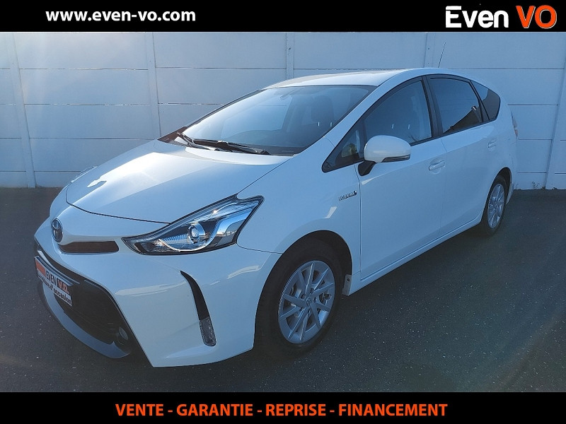 Toyota PRIUS+ 136H DYNAMIC BUSINESS Hybride BLANC Occasion à vendre