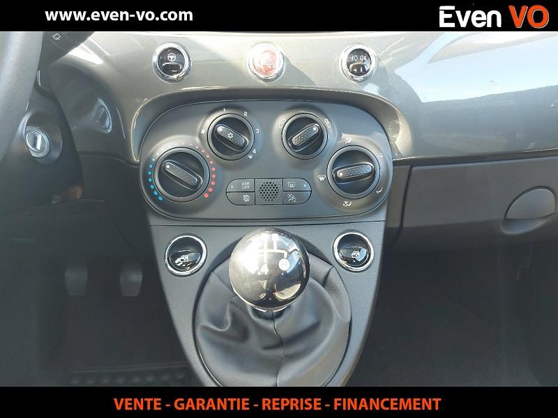 Photo 11 de l'offre de FIAT 500 1.2 8V 69CH ECO PACK LOUNGE à 10000€ chez Even VO