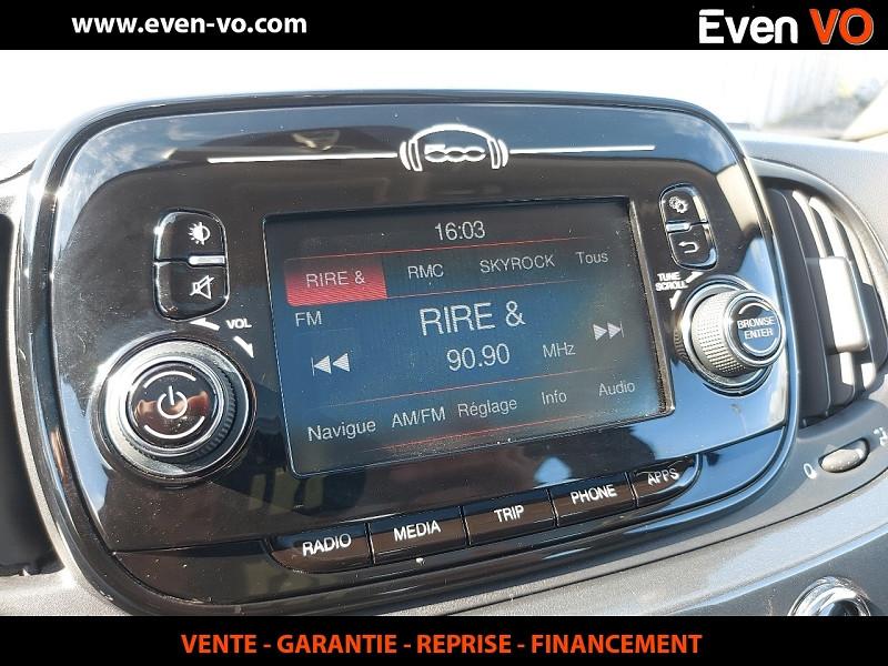 Photo 8 de l'offre de FIAT 500 1.2 8V 69CH ECO PACK LOUNGE à 10000€ chez Even VO