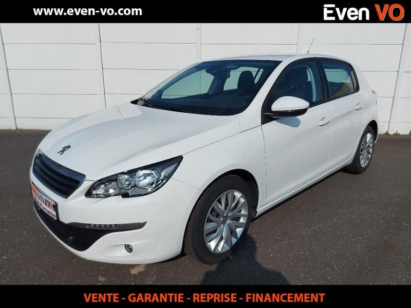 Peugeot 308 AFFAIRE 1.6 BLUEHDI 100CH S&S PACK CLIM NAV Diesel BLANC Occasion à vendre