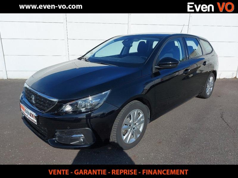 Peugeot 308 SW 1.5 BLUEHDI 130CH S&S  ACTIVE BUSINESS EAT8 Diesel NOIR Occasion à vendre