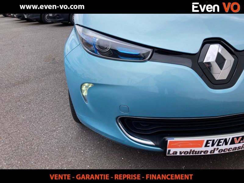 Photo 18 de l'offre de RENAULT ZOE INTENS CHARGE RAPIDE à 7500€ chez Even VO
