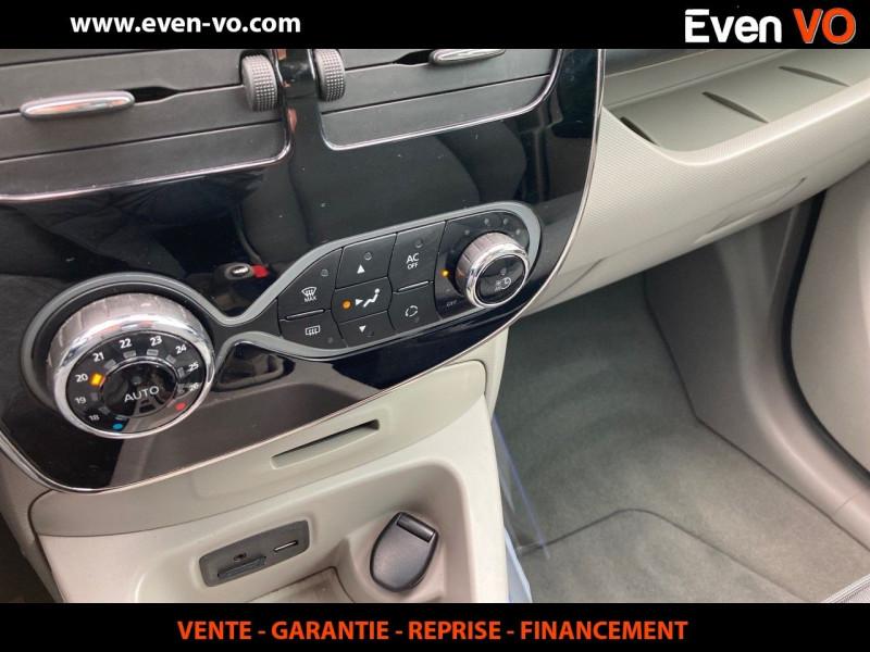 Photo 11 de l'offre de RENAULT ZOE INTENS CHARGE RAPIDE à 7500€ chez Even VO
