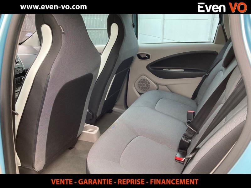 Photo 4 de l'offre de RENAULT ZOE INTENS CHARGE RAPIDE à 7500€ chez Even VO