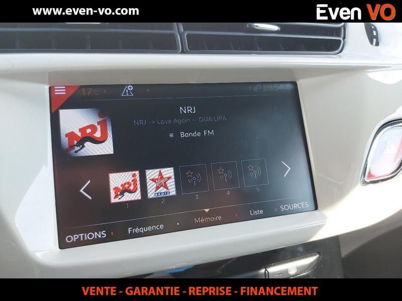 Photo 13 de l'offre de DS DS 3 PURETECH 110CH CAFE RACER AUTOMATIQUE à 19500€ chez Even VO