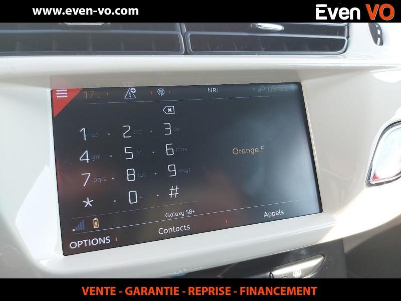 Photo 16 de l'offre de DS DS 3 PURETECH 110CH CAFE RACER AUTOMATIQUE à 19500€ chez Even VO
