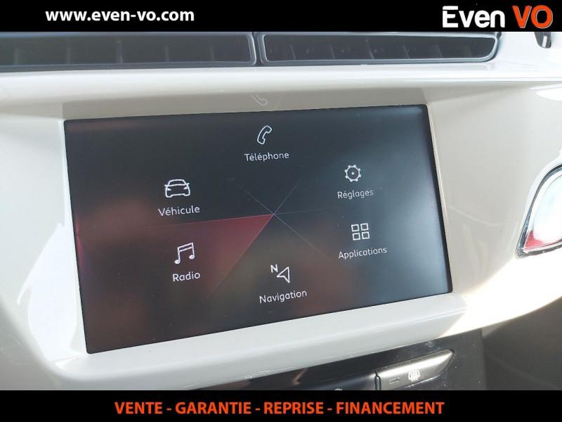 Photo 14 de l'offre de DS DS 3 PURETECH 110CH CAFE RACER AUTOMATIQUE à 19500€ chez Even VO