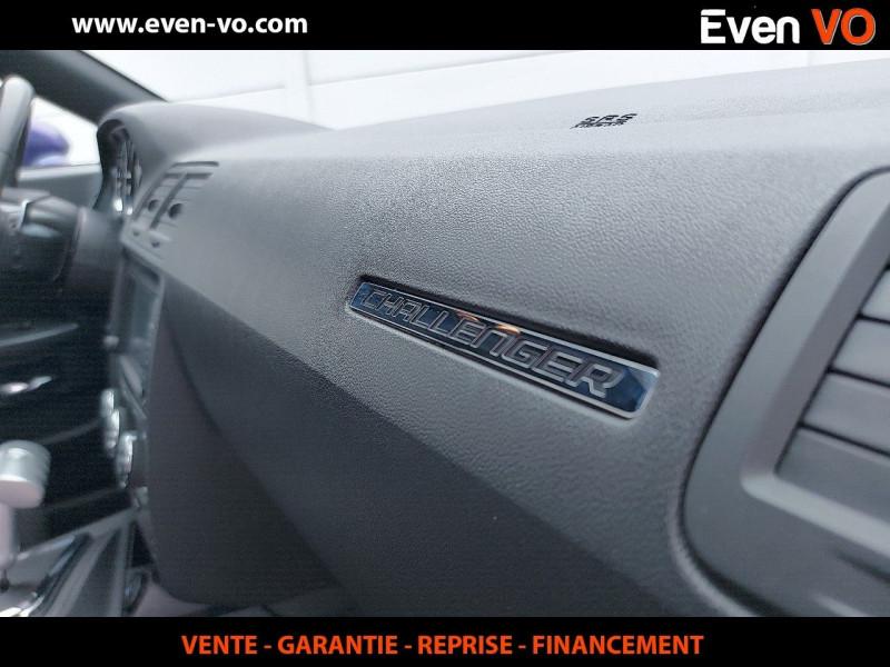 Photo 21 de l'offre de DODGE CHALLENGER V8 5.7 HEMI RT BVA à 39500€ chez Even VO