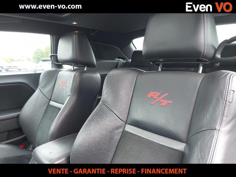 Photo 11 de l'offre de DODGE CHALLENGER V8 5.7 HEMI RT BVA à 39500€ chez Even VO