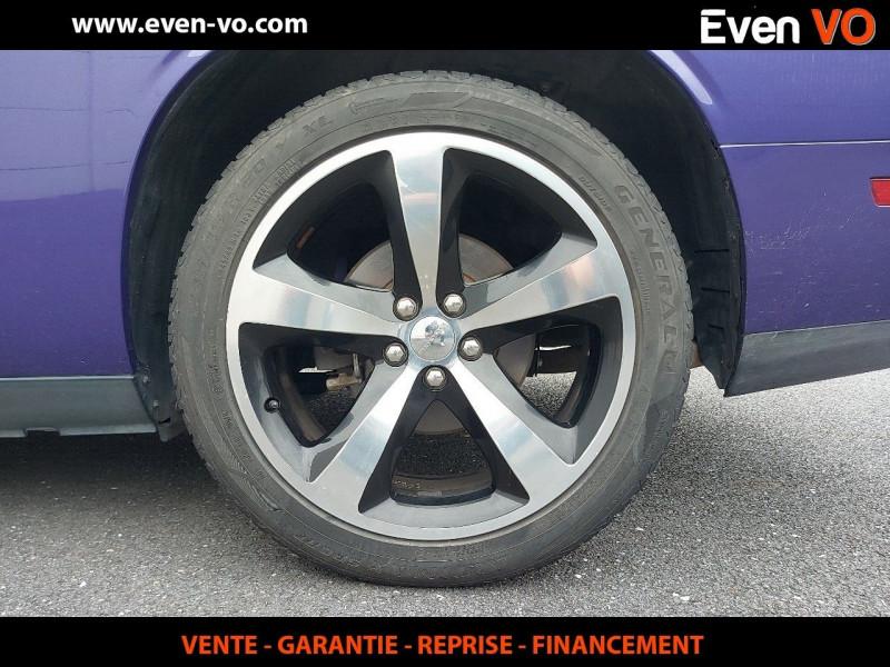 Photo 9 de l'offre de DODGE CHALLENGER V8 5.7 HEMI RT BVA à 39500€ chez Even VO