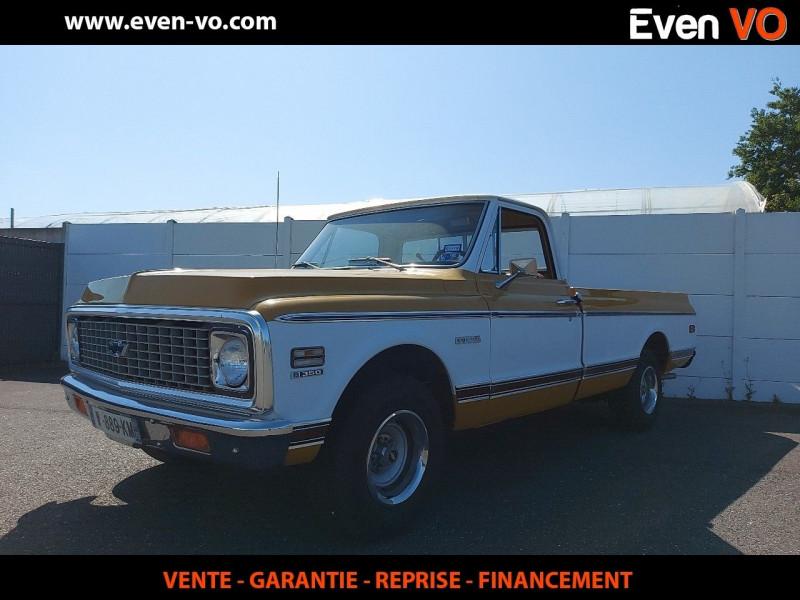 Chevrolet C10 V8 5.7L BENNE LONGUE Essence BLANC  / JAUNE Occasion à vendre