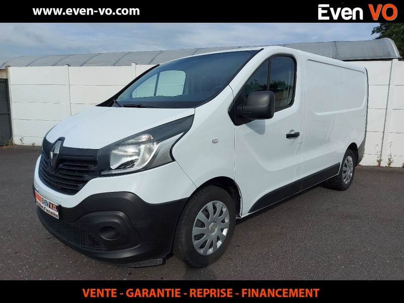 Renault TRAFIC III FG L1H1 1000 1.6 DCI 125CH ENERGY GRAND CONFORT EURO6 Diesel BLANC Occasion à vendre