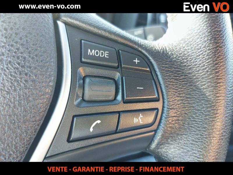 Photo 22 de l'offre de BMW SERIE 1 (F21/F20) 116DA 116CH BUSINESS DESIGN 5P à 21000€ chez Even VO
