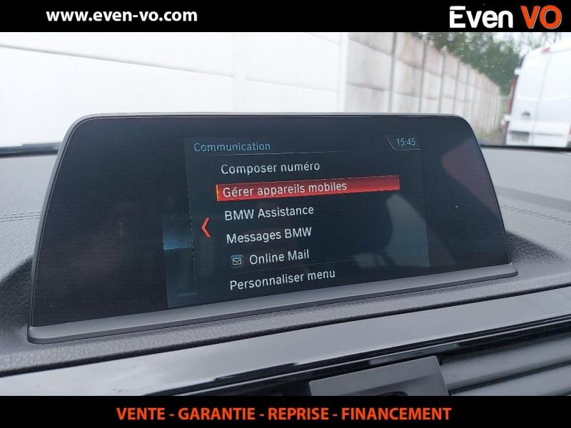 Photo 11 de l'offre de BMW SERIE 1 (F21/F20) 116DA 116CH BUSINESS DESIGN 5P à 20000€ chez Even VO