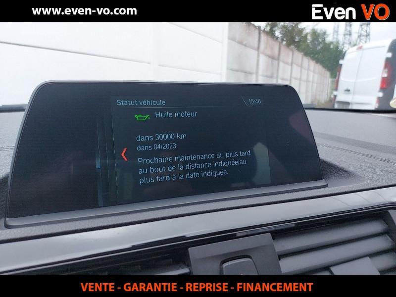 Photo 13 de l'offre de BMW SERIE 1 (F21/F20) 116DA 116CH BUSINESS DESIGN 5P à 20000€ chez Even VO