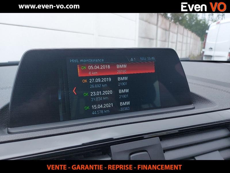 Photo 12 de l'offre de BMW SERIE 1 (F21/F20) 116DA 116CH BUSINESS DESIGN 5P à 20000€ chez Even VO