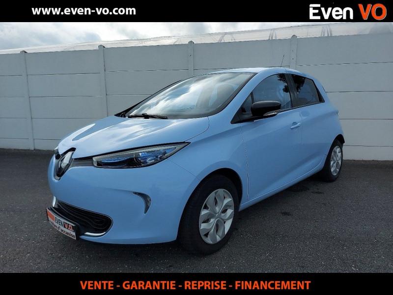 Renault ZOE LIFE CHARGE RAPIDE TYPE 2 Electrique BLEU  Occasion à vendre