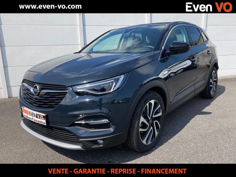 Opel GRANDLAND X 1.2 TURBO 130CH ULTIMATE BVA Essence GRIS  Occasion à vendre