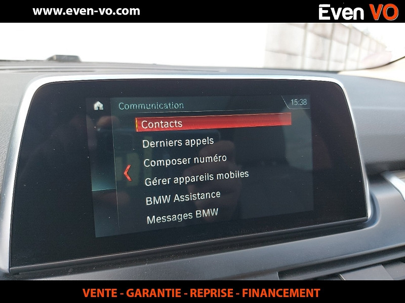 Photo 11 de l'offre de BMW SERIE 2 ACTIVETOURER (F45) 220IA 192CH LUXURY à 23000€ chez Even VO