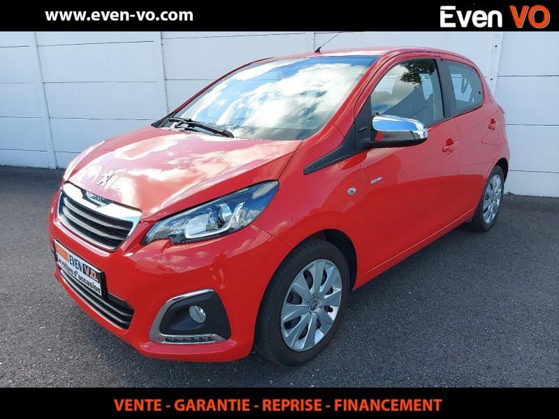 Peugeot 108 1.0 VTI STYLE 5P Essence ROUGE Occasion à vendre