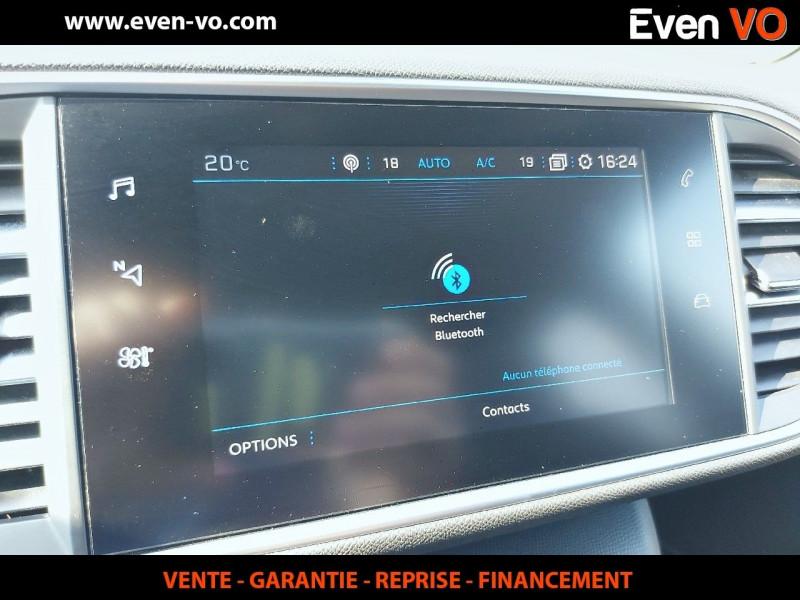 Photo 18 de l'offre de PEUGEOT 308 2.0 BLUEHDI 180CH S&S GT EAT8 à 26500€ chez Even VO