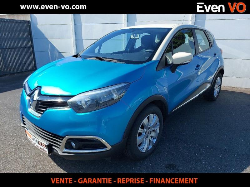Renault CAPTUR 1.5 DCI 90CH STOP&START ENERGY ZEN ECO² Diesel BLEU Occasion à vendre