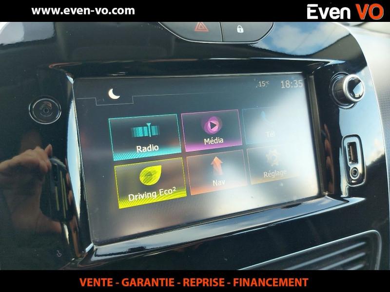 Photo 6 de l'offre de RENAULT CLIO IV STE 1.5 DCI 90CH ENERGY AIR MEDIANAV ECO² 82G à 8000€ chez Even VO