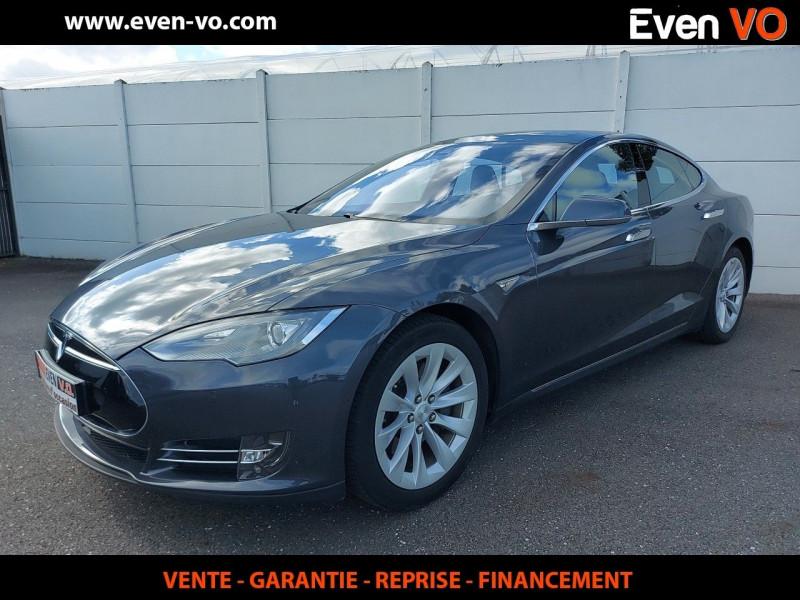 Tesla MODEL S 90D DUAL MOTOR Electrique GRIS  Occasion à vendre