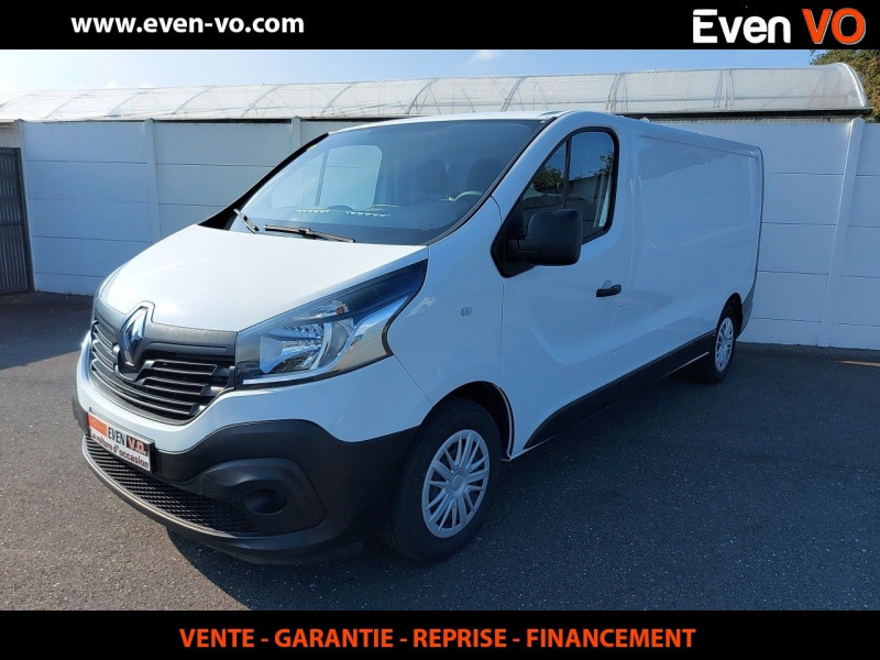 Renault TRAFIC III FG L2H1 1300 1.6 DCI 125CH ENERGY GRAND CONFORT EURO6 Diesel BLANC Occasion à vendre