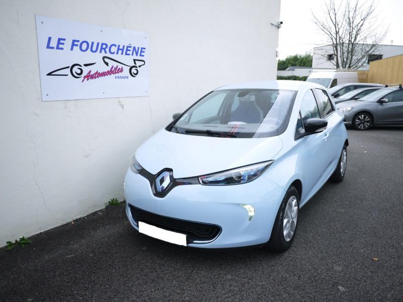 Renault ZOE LIFE CHARGE RAPIDE Electrique BLEU C Occasion à vendre